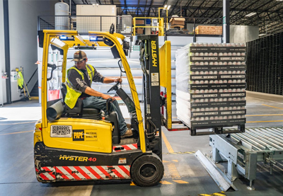 Forklift Driving - Cromwell Polythene