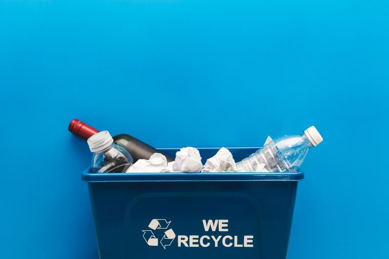 Recycling Bin - Plastic Recycling - Cromwell Polythene