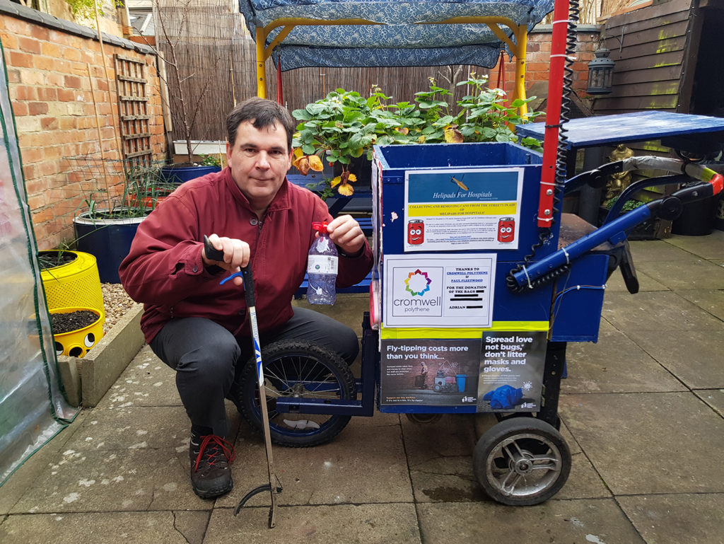 The 'Can Man' a litter picking hero - Ady's Story